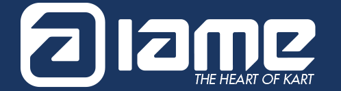 IAME - The Heart of Karting logo