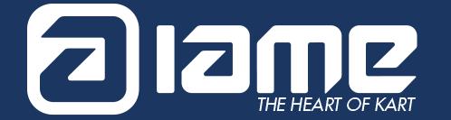 IAME - The Heart of Karting logo