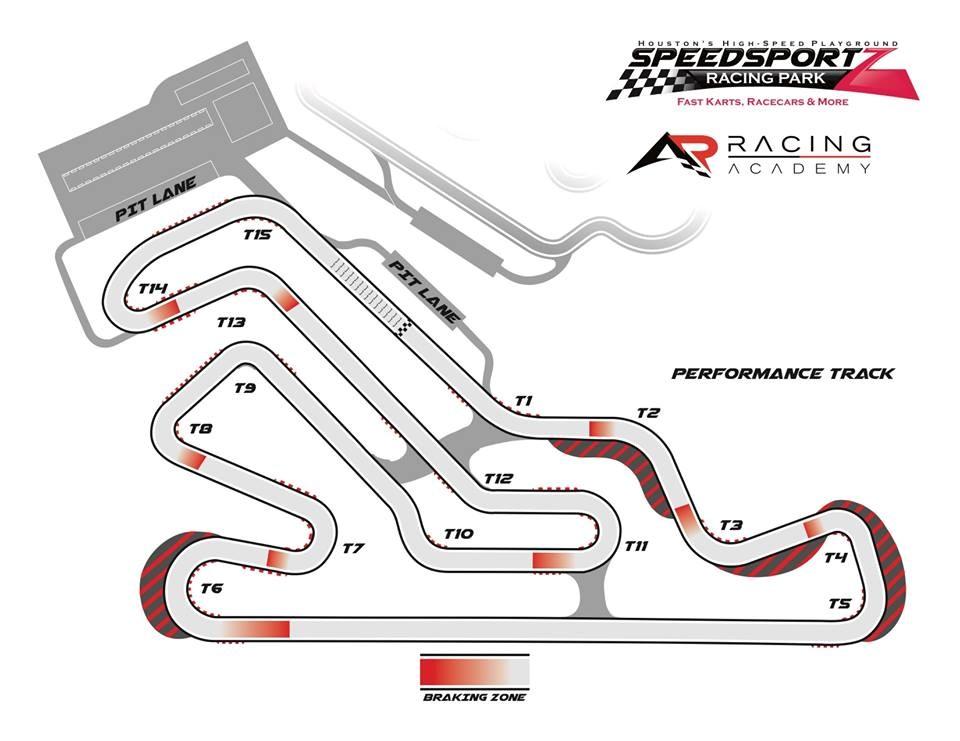 Speedsportz Track Map